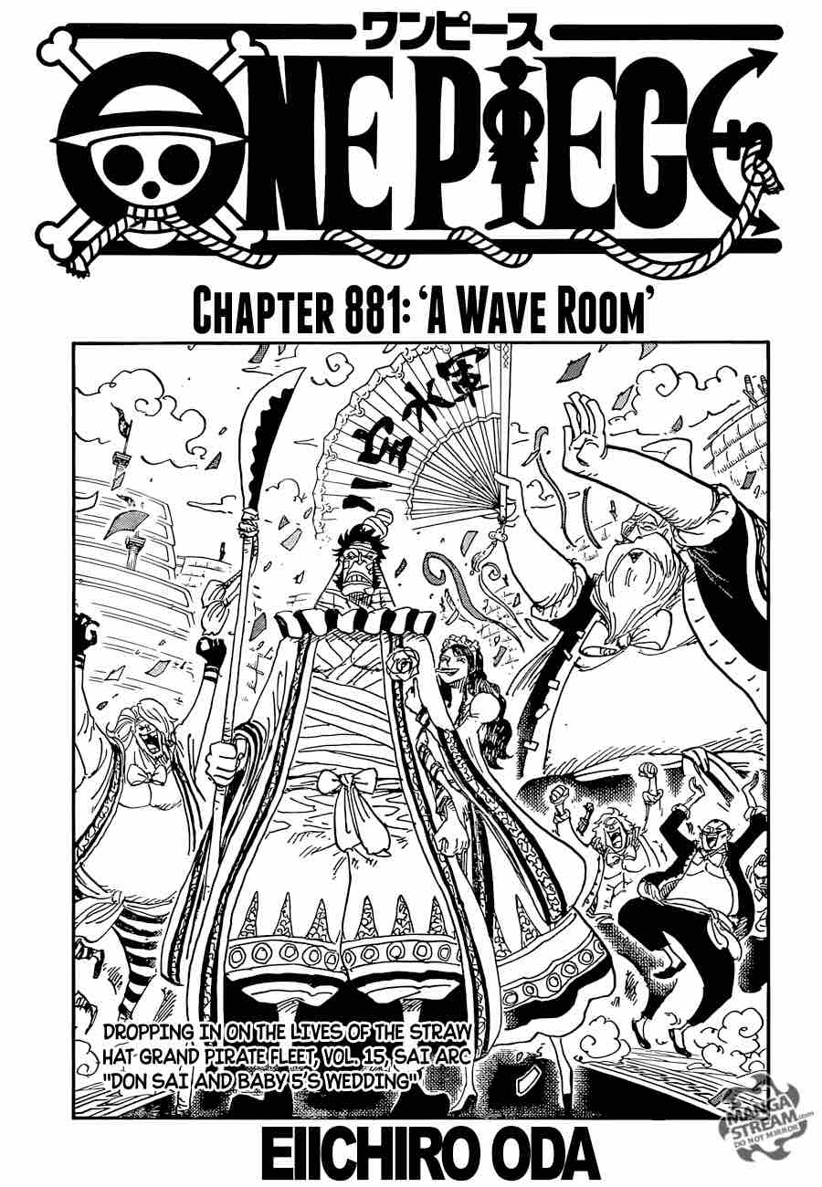 One Piece Chapter 881 Page 1
